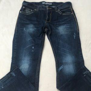 Affliction ACE men's jeans.